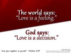 Image result for the world says love is a feeling