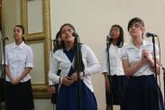"""Mercy, Any, Debora, Roxana & Genesis -IDDPMI """"Monte Carmelo"""" singing the devotional"""