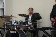 TJ in the Drums