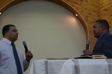 "Pastor Hiram Melendez Nater , IDDP MI ""Monte de los Olivos with Evangelist Robert Vazquez Jr."