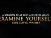 Examine Yourselves (Part2)